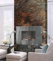 quartzite wall slab slate fireplace