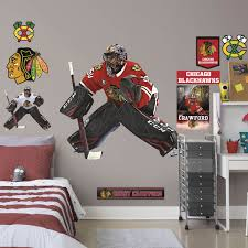 Corey Crawford Officially Licensed Nhl Removable Wall Decal