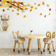 Beautiful Maple Leaves And Branches Vinyl Wall Sticker Diy Creative Tree Wall Art For Living Room Bedroom Decoration Tree Wall Decal Mural Wall Stickers Music Wall Decals From Carrierxia 3 52 Dhgate Com