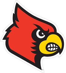 12 Louisville Cardinal Head Vinyl Decal Wesellspirit Com