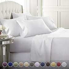 6 piece hotel luxury soft 1800 series