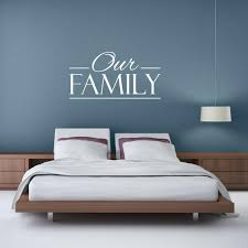 Family Wall Decal Our Family Family Quotes Family Wall Etsy