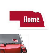Nebraska Red Zone Nebraska Home Decal