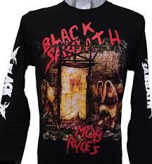 black sabbath long sleeved t shirt mob