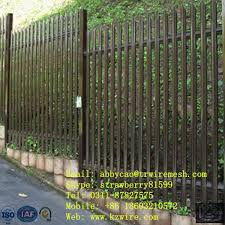 Special Palisade Fencing With Black Vinyl Coated Roadside Fence Frame Palisade Fencefence Hinge Aliexpress