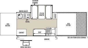 100 tent trailer floor plans