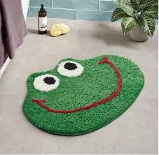 Bathroom Mat With Frog Cartoon Carpet Trips Bathroom Kitchen Carpet Doormat Soft Non Slip Mat Children S Room Home Deco Rug Aliexpress