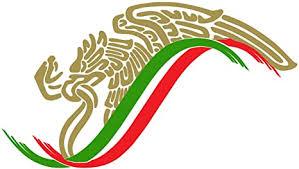 Amazon Com Mexican Eagle Flag Sticker Decal Mexico Aguila Mexicana 12 X8 7 X4