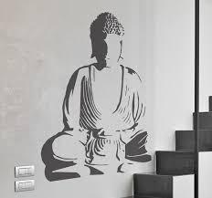 Buddha Decorative Wall Decal Tenstickers
