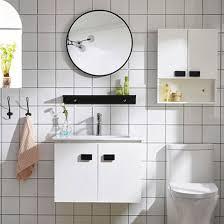 pvc bathroom vanity wall mounted
