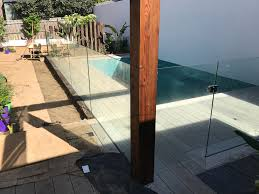 Frameless Urban Glass Fencing