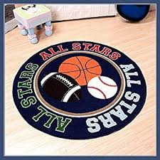 Amazon Com Fun Sports Rugs Kids Room Decor Home Kitchen