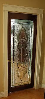 luxury home design stained glass doors