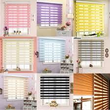 China Colorful Kids Room Zebra Blinds Rainbow Colors Day Night Blinds China Zebra Blinds Zebra Curtain
