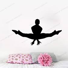Dance Vinyl Wall Decal Or Car Sticker Dance Personalized Vinyl Decal For Girls Room Yw 592 Wall Stickers Aliexpress