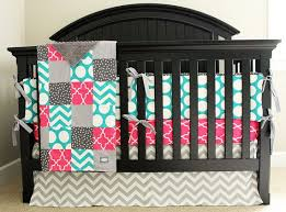 custom crib bedding hot pink