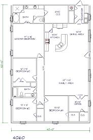 30 barndominium floor plans