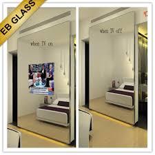 eb glass brand mirror tv waterproof tv