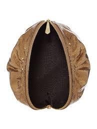 biba lana cosmetic bag in bronze brown