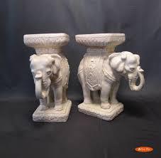 elephant garden seat circa who