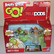 HASBRO Angry Birds Go! TelePods Multi-Pack 2 Ways to Play! 1 Race ...