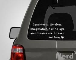 Walt Disney Quote Vinyl Car Decal For Macbooks Laptops Car Windows Etc Disney Macbook Decal Disney Decals Disney Macbook