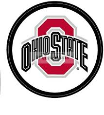 Amazon Com 4 Inch Round O Logo Red Gray Black Osu Ohio State University Buckeyes Removable Wall Decal Sticker Art Ncaa Home Decor 4 Inches Wide By 4 Inches Tall Baby