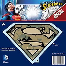 Bling Logo Crystal Studded Superman Dc Comics Ch Sm Logo001 Car Window Decal Sticker