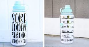Jane Water Bottle Tracker Vinyl Decal Only 4 99 Regular Price 12 99 Mylitter One Deal At A Time