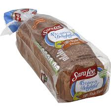 sara lee bread 100 whole wheat with