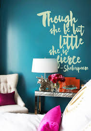 Little But Fierce Wall Decal Trading Phrases