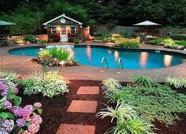 pool garden ideas towifi info