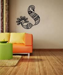 Vinyl Wall Decal Sticker Henna Bird Os Aa1097 Stickerbrand