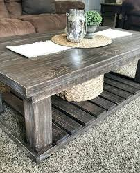 contemporary rustic coffee table set