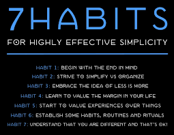 here are 7 habits for highly effective