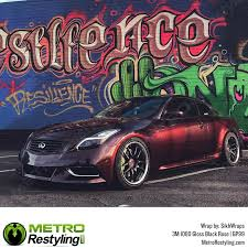 3m Gloss Black Rose Vinyl Wrap 3m 1080 Vinyl Metro Restyling