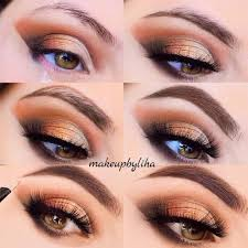 makeup for hazel eyes step by step