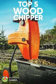5 best wood chipper and shredder for
