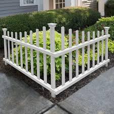 Corner Picket Fence Wayfair