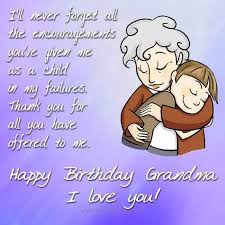 happy birthday messages to grandma com