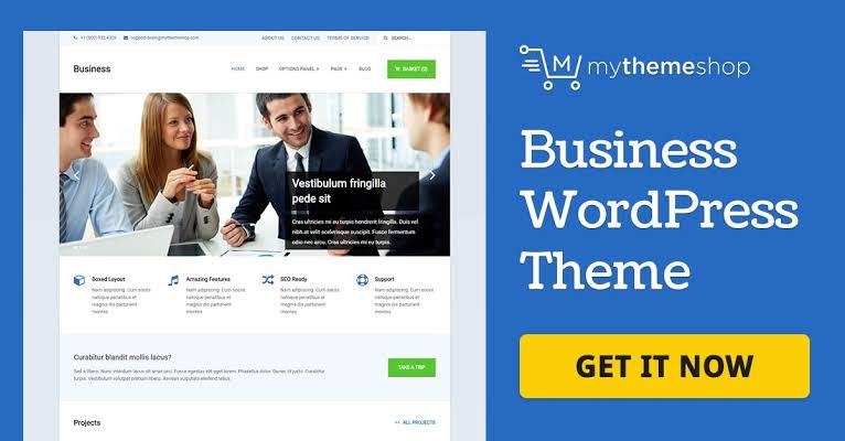 MyThemeShop Business WordPress Theme