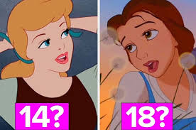 only a disney princess stan will be able to get on this age quiz