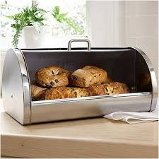 best kitchen stainless steel bread box