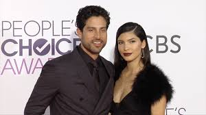 """Adam Rodriguez and Grace Gail """"People's Choice Awards"""" 2017 Red ..."""
