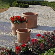 cylinder pots terracotta plant pots