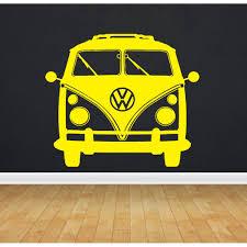 Shop Vw Bus Bulli Sticker Vinyl Wall Art Overstock 10037142