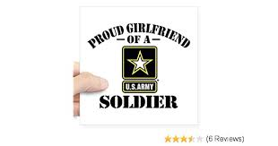 Usaf Proud Girlfriend Square Sticker 3 X 3 Small Large Or 5x5 Cafepress 3x3 Square Bumper Sticker Car Decal Cbib Cl