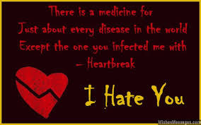 i hate you messages for her cheating and betrayal by ex boyfriend