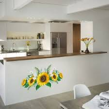 Sunflower Bedroom Removable Wall Sticker Window Home Decor Decal Mural Art Ebay