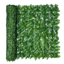 Mega Discount Fdb3 Artificial Leaf Privacy Fence Roll Wall Landscaping Fence Privacy Fence Screen Outdoor Garden Backyard Balcony Fence Cicig Co